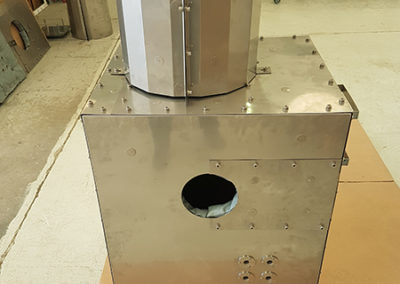STEELPAN RIGID FIRE PROTECTION ON LINEAR ACTUATOR
